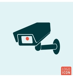 CCTV icon isolated vector image vector image