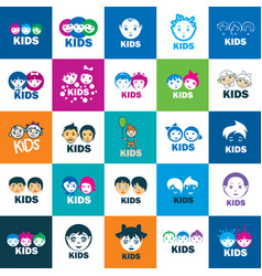 icon kids vector image vector image