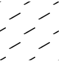 Wooden flute icon in black style isolated on white vector