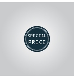 Special price icon badge label or sticker vector