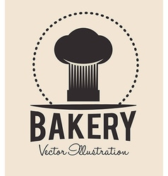 Bakery tools design vector