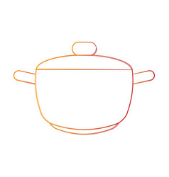 hot pot icon image vector image vector image