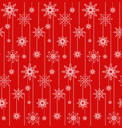 Seamless texture with festive garlands of vector