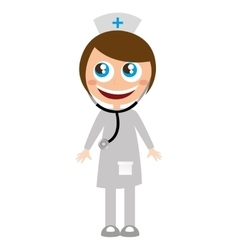 Doctor medicine character funny vector