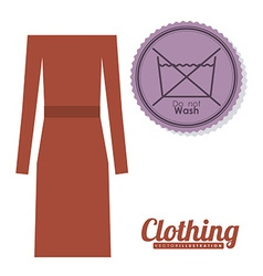 Clothing design vector