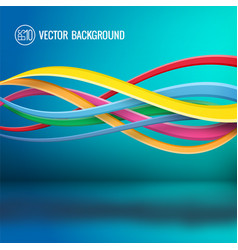Abstract bright dynamic template vector