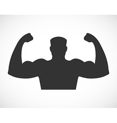 Gym design and street workout icon vector