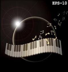 Music planeta vector
