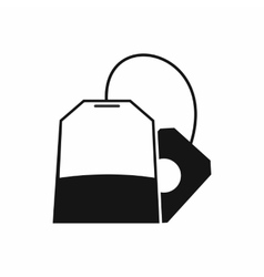 Teabag icon simple style vector