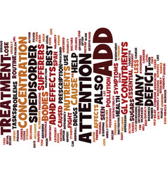 The best add treatment text background word cloud vector