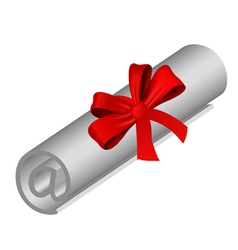 Email roll vector