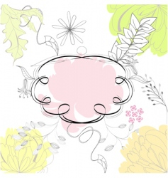 template for card design vector image