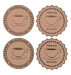 A banner coffee vector
