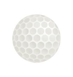 Golf ball isometric 3d icon vector