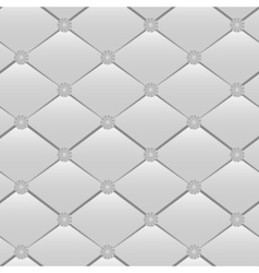 Grey rhombic seamless vector image