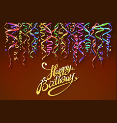 Happy birthday sign design background birthday vector