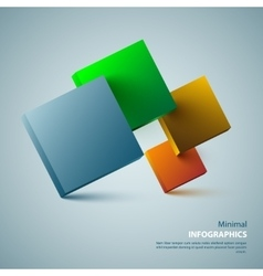 Modern Design Layout for your vector image vector image