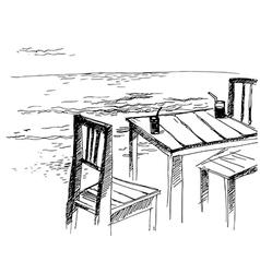 sea 2 vector image vector image