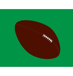 myach rugby vector image