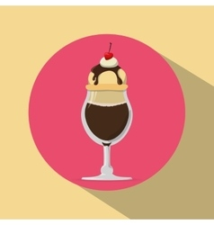 Ice cream design vector
