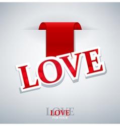 Valentines love background vector