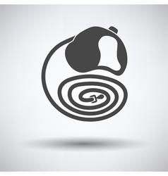 Dog lead icon vector image