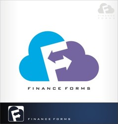 finance forms vector image vector image