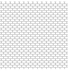 Fish scales net vector
