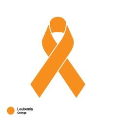 leukemia ribbon vector image vector image