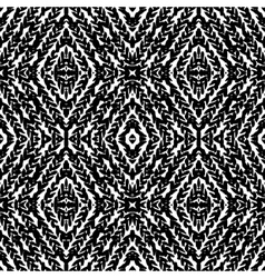 Pattern with hand painted lines vector