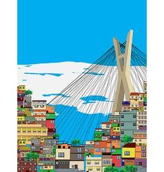 Sao Paulo vector image