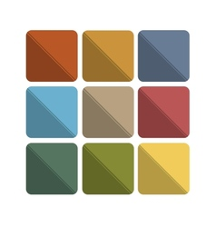 Colorful abstract flat icon backgrounds vector
