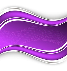 Beautiful lilac background vector image