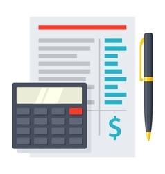 Budgeting Icon vector image