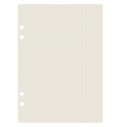 Notepaper vector image vector image