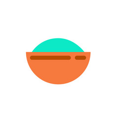 Oriental fried rice vector