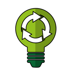 recycle symbol isolated icon vector image
