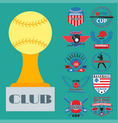 tournament competition graphic champion vector image vector image