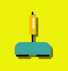 flat icon design collection playing joystick in vector image