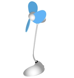 Desk fan vector