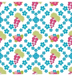 Floral background seamless floral pattern vector image