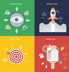 Element of business development concept icon in vector