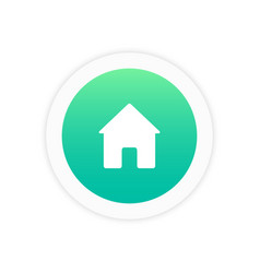 home icon sign vector image
