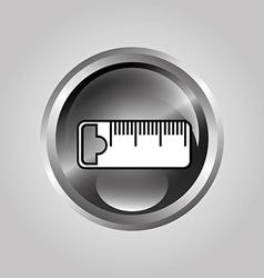 Ruler design vector