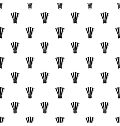 Shuttlecock pattern simple style vector
