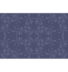 Vintage blue pattern vector