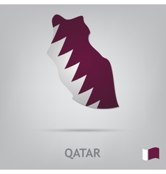 country qatar vector image