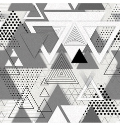 Abstract hipster polygon triangle background vector