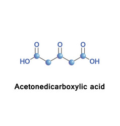 Acetonedicarboxylic beta-ketoglutaric acid vector