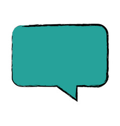 Bubble speak chat text message icon vector